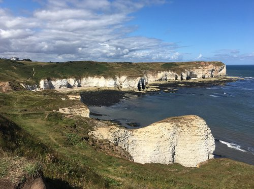 flamborough  yorkshire coast  coast