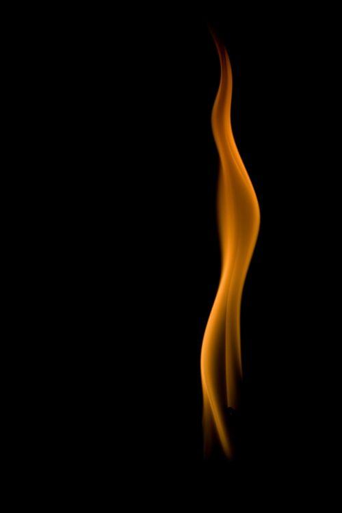 flame fire orange