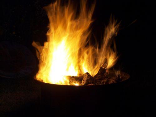 flame fire burns