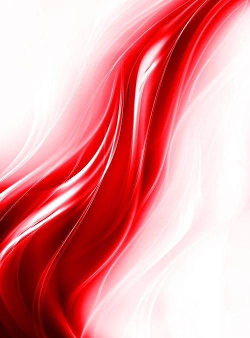 flame red fractal