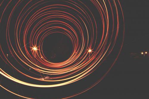 flame round circle