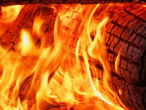 flame heat hot