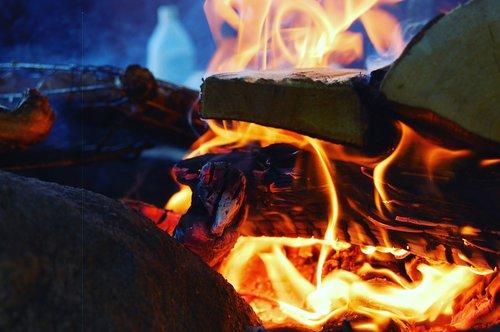 flame  heat  smoke