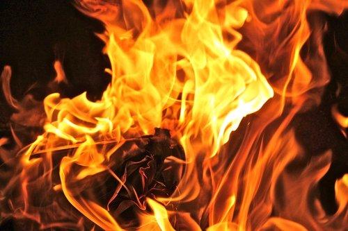 flame  heat  bonfire