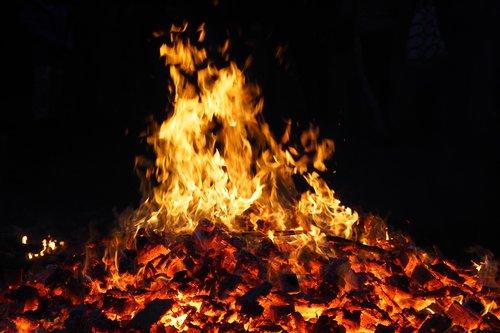 flame  heat  flammable