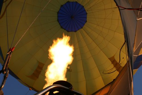 flame fire balloon
