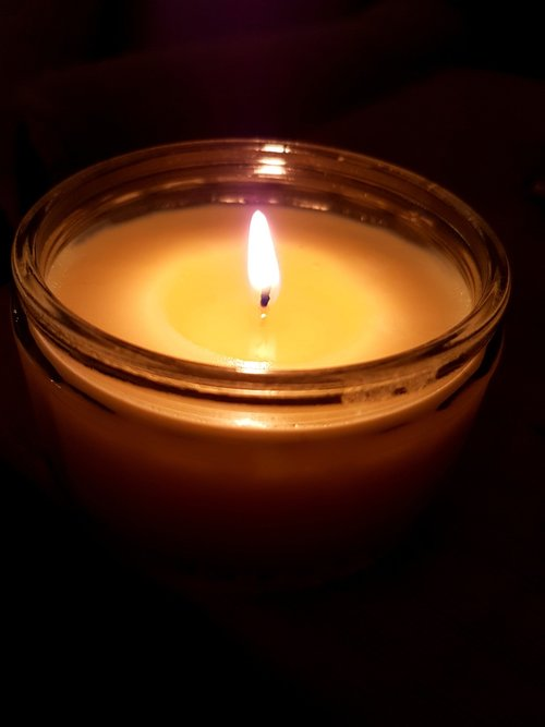 flame  candle  candlelight