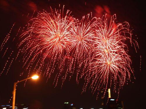 flame fireworks festival lights