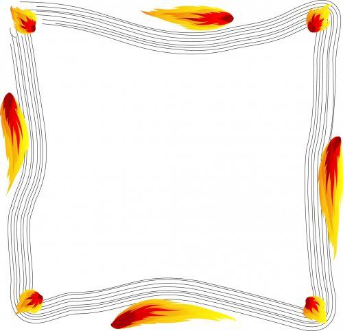 Flamed Frame