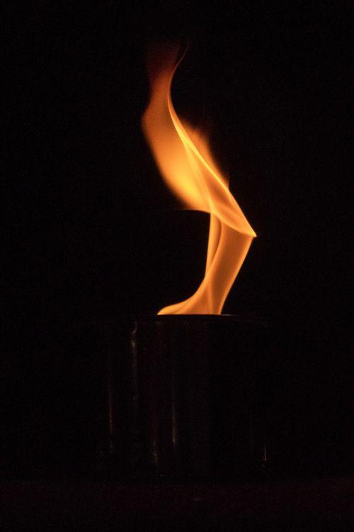 flamen fire glowing