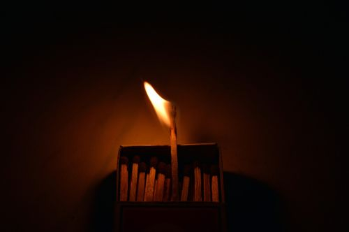 flames unique think