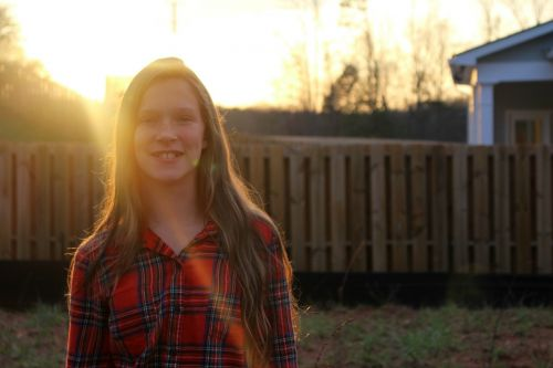 flannel sunlight smiles