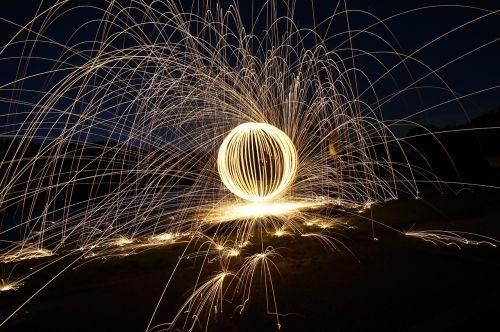 flare-up darkness lichtspiel
