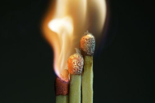flare-up match sticks