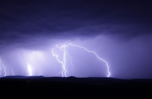 flash thunderstorm ore mountains