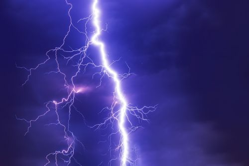 flash thunderstorm super cell