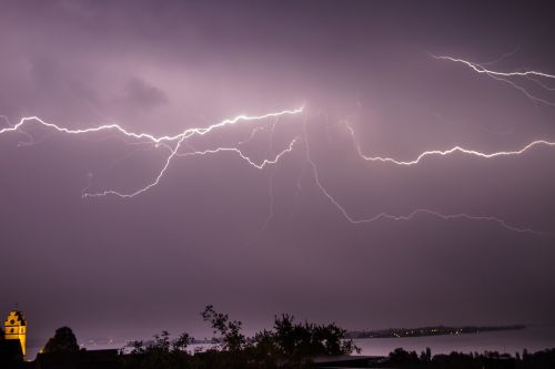 flash thunderstorm storm