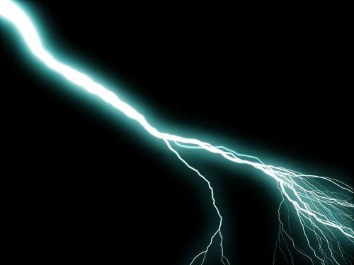 flash thunderstorm flash of lightning