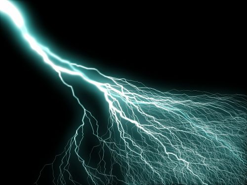flashes thunderstorm electricity