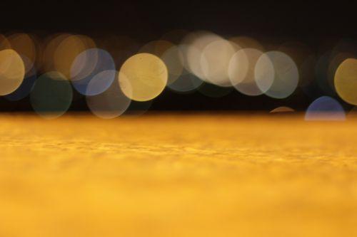 butas,paviršius,Bokeh,naktis,blur,objektyvo blur