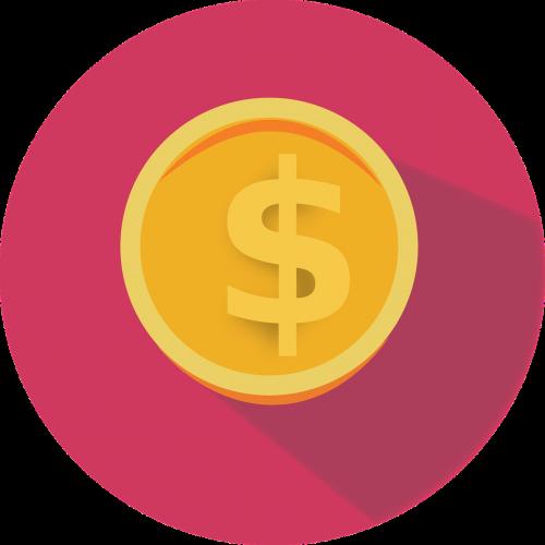 flat icon money