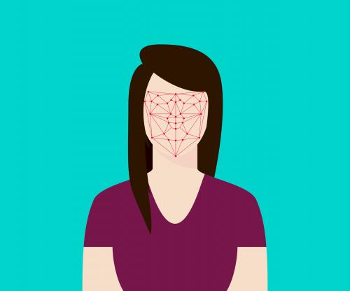 flat recognition facial