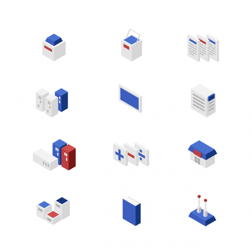 flat icon icon set