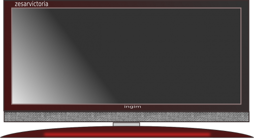 flat screen television screen