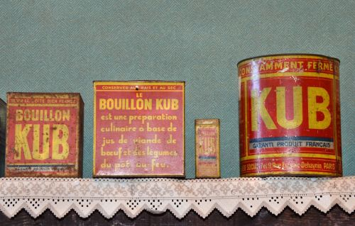 flea market boxes kub broth