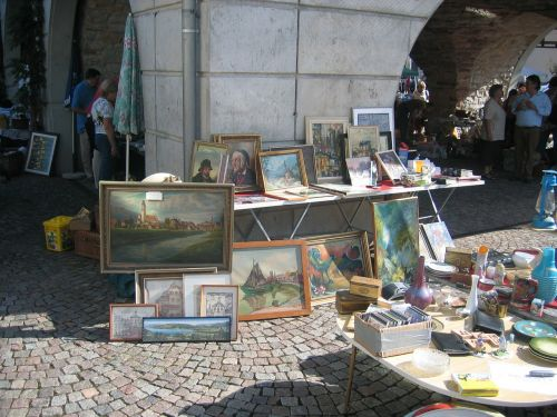 flea market painting browse
