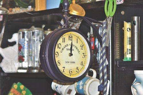 flea market  junk  clock