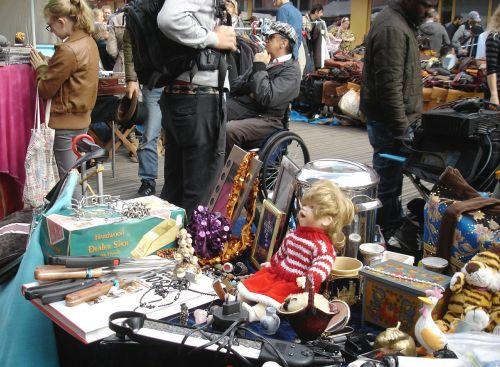 flea market doll vintage