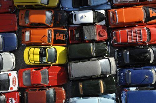 flea market miniature cars small cars