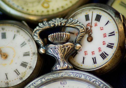 flea market watches pocket dial