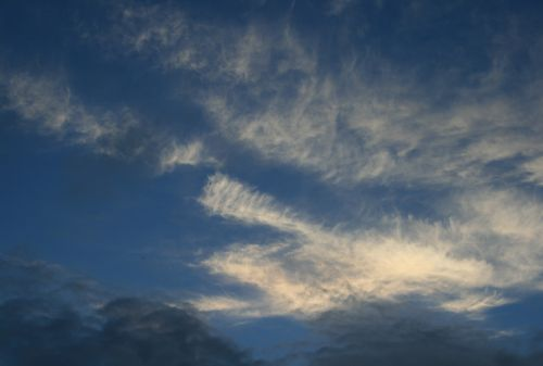 Fleece Cloud Catching Light