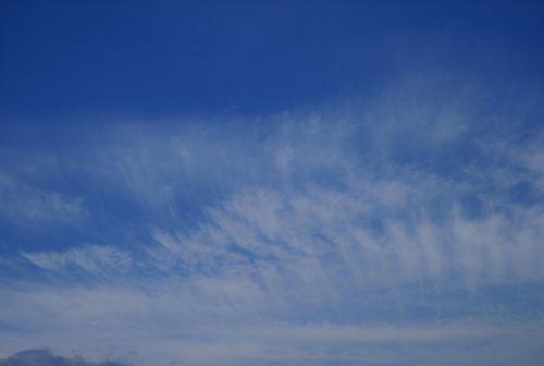 Fleece Cloud In Blue Sky