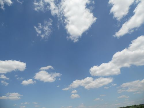 fleecy sky blue