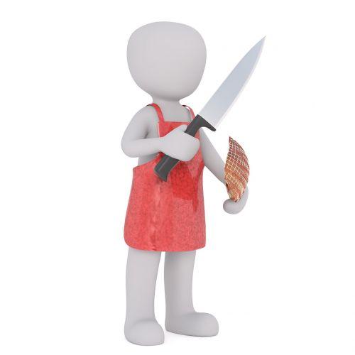 fleischer apron white man