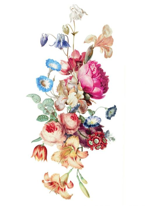fleur vintage floral