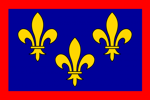 fleur-de-lis,heraldry,rectangle,yellow,flowers,frame,flag,sign,free vector graphics