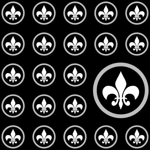Fleur De Lis Wallpaper Background