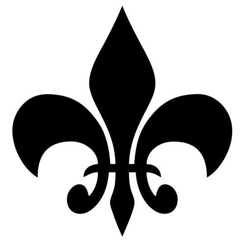 fleur-de-lys symbol fleur de lis