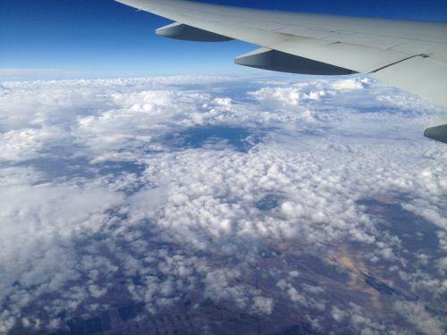 flight sky atmosphere