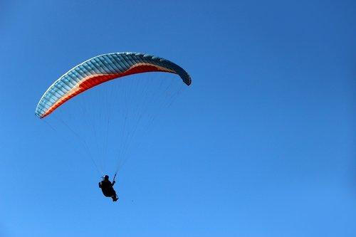 flight  paragliding  sky