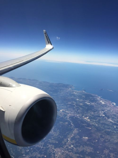 Flight Over Portugal
