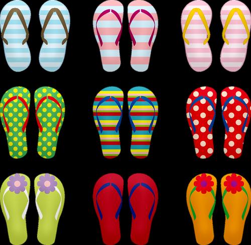 flip flops  sandals  summer