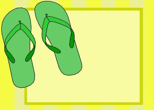 Flip Flops Invitation