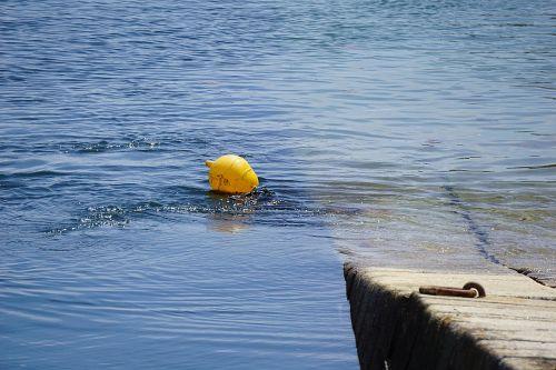 float water blue