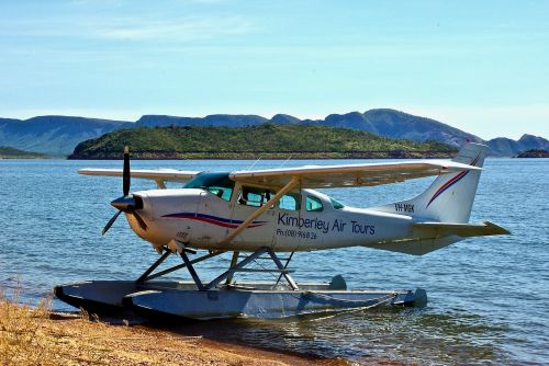 float plane aero lake