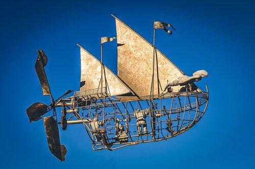 floating  vehicle  mystical